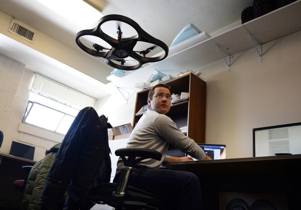 Universtity of Denver developing unmanned aerial vehicle technology, UAV